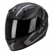 Scorpion EXO 2000EVO Air Carb Black/silver incl Free Dark visor
